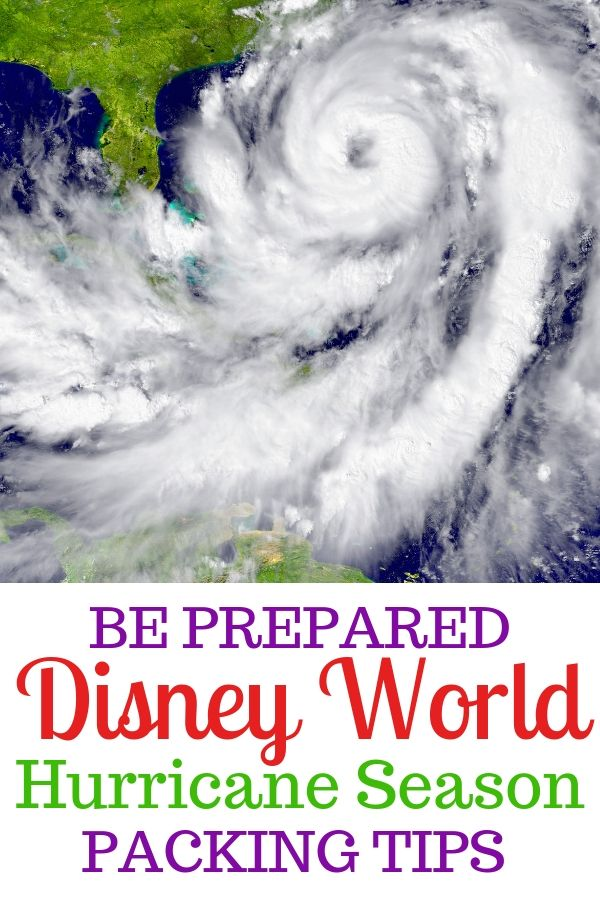 The Atlantic hurricane season is smack dab in the middle of summer travel. Know what to pack with these Disney World hurricane tips.