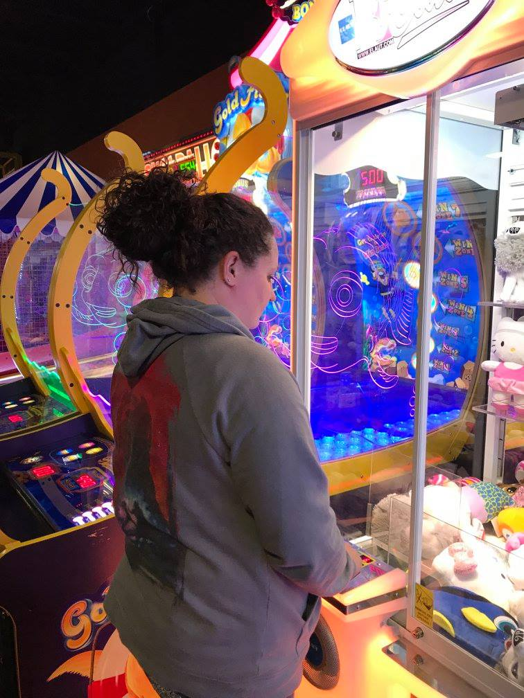 The claw machine at the World's Largest Cici's Pizza is pretty easy.
