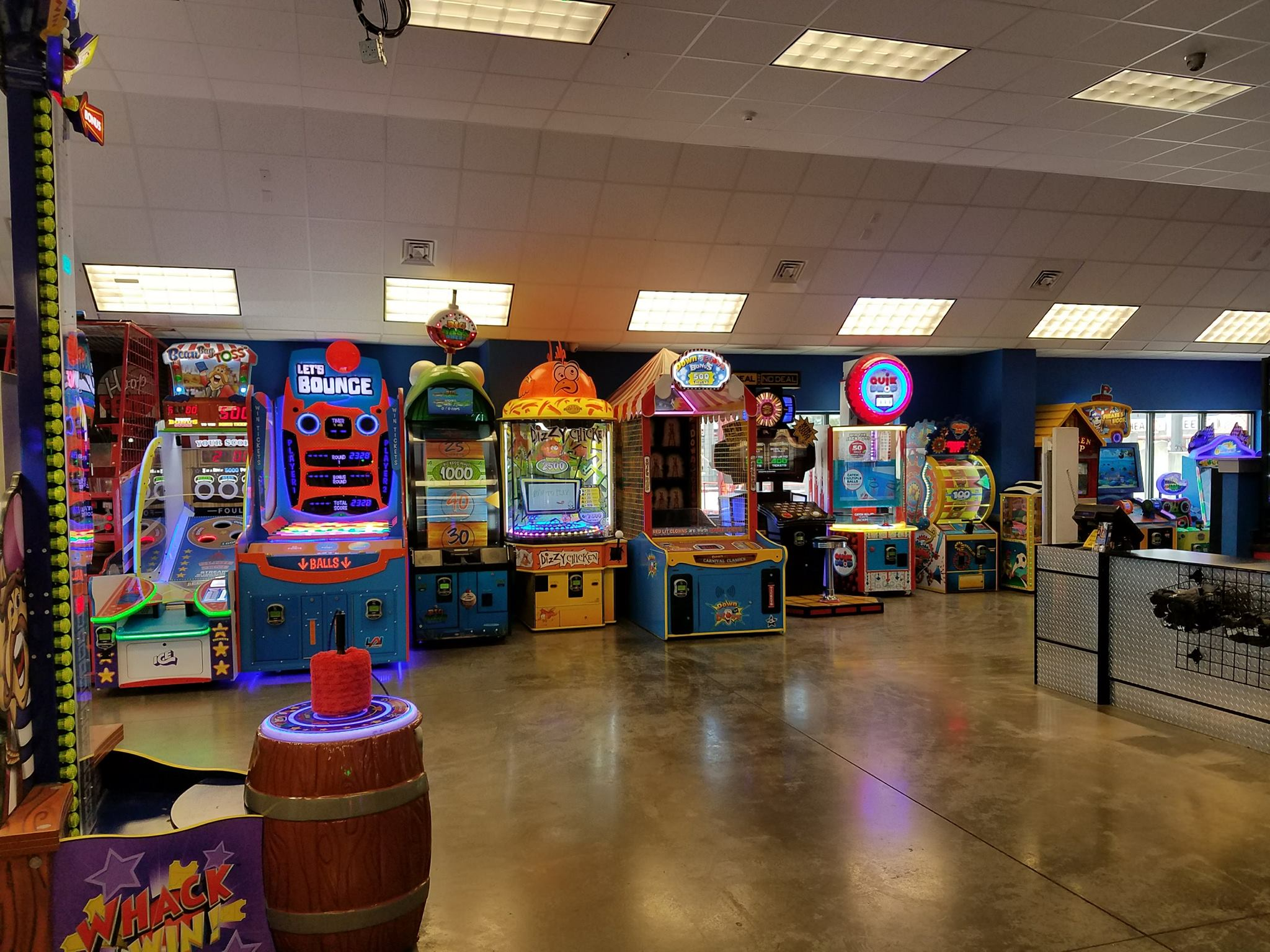 What kids doesn't love arcades? The Track Family Fun Parks are just what the kids want.