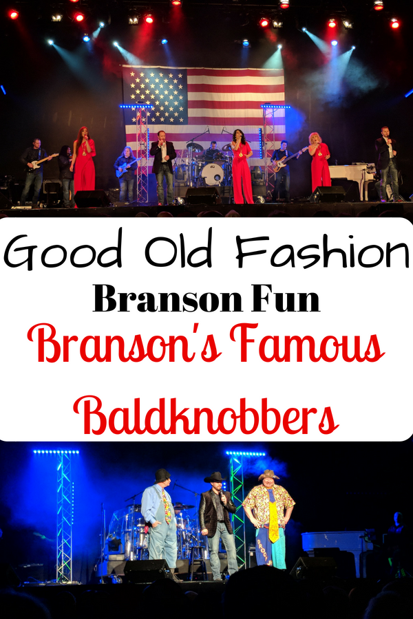 Have a foot stompin good time at the Branson's Famous Baldknobbers show. #BloggingBranson #Branson #familyfun #liveshows