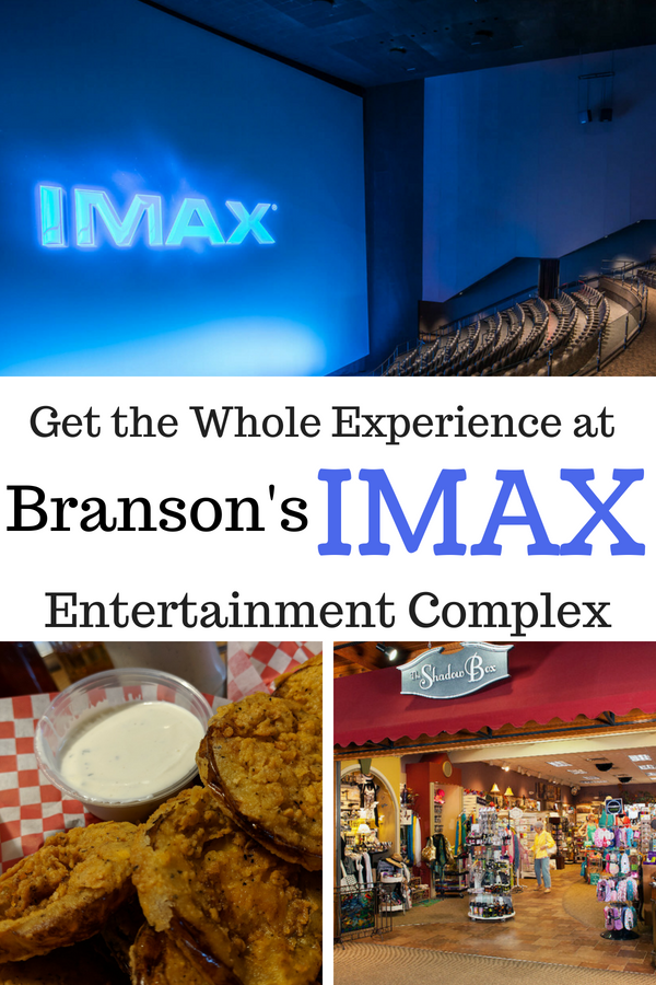 Branson's IMAX Entertainment Complex is a full sensory experience. Movies, shopping, dining and more! #BloggingBranson #Branson #Missouri #traveltips #familyfun #travelingwithkids