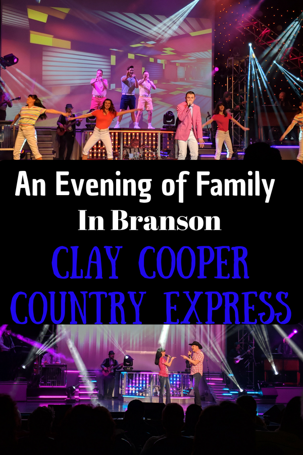 Enjoy an evening of good wholesome family fun at The Clay Cooper Country Express. #BloggingBranson #BransonMissouri #Branson #familytravel #familyentertainment