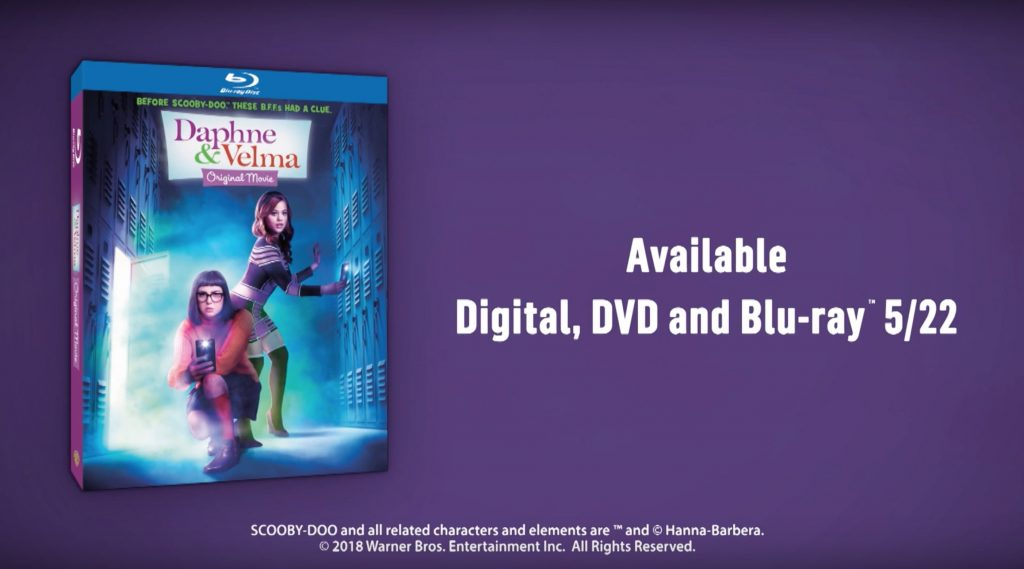 Daphne and Velma on DVD and Blu-ray on May 22, 2018. Enter to Win a copy today! #DaphneVelma #EntertoWin #Sponsored #Giveaway