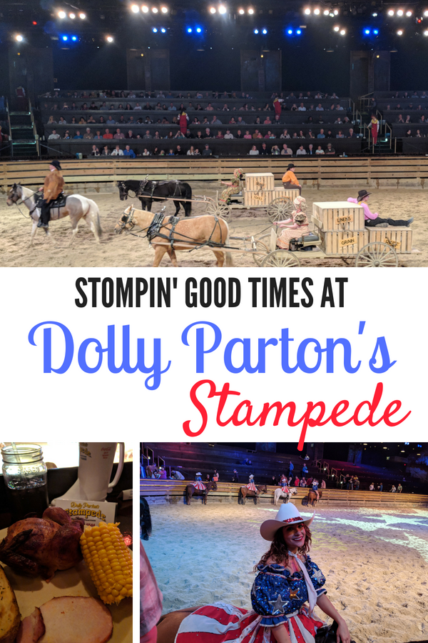 Dust off those boots & get ready for a stompin' good time at Dolly Parton's Stampede in Branson! #BloggingBranson #DollyParton #familytravel #travelwithkids #familyentertainment #dinnershow #Branson #BransonMissouri