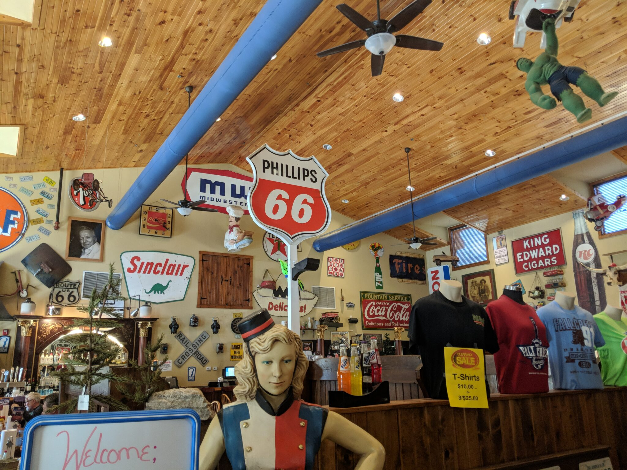 Fall Creek Steak & Catfish House is fun for the whole family.