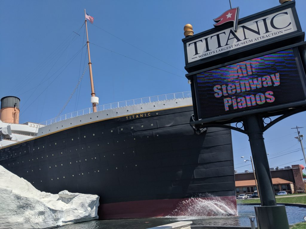 Visit the Titanic Museum in Branson.