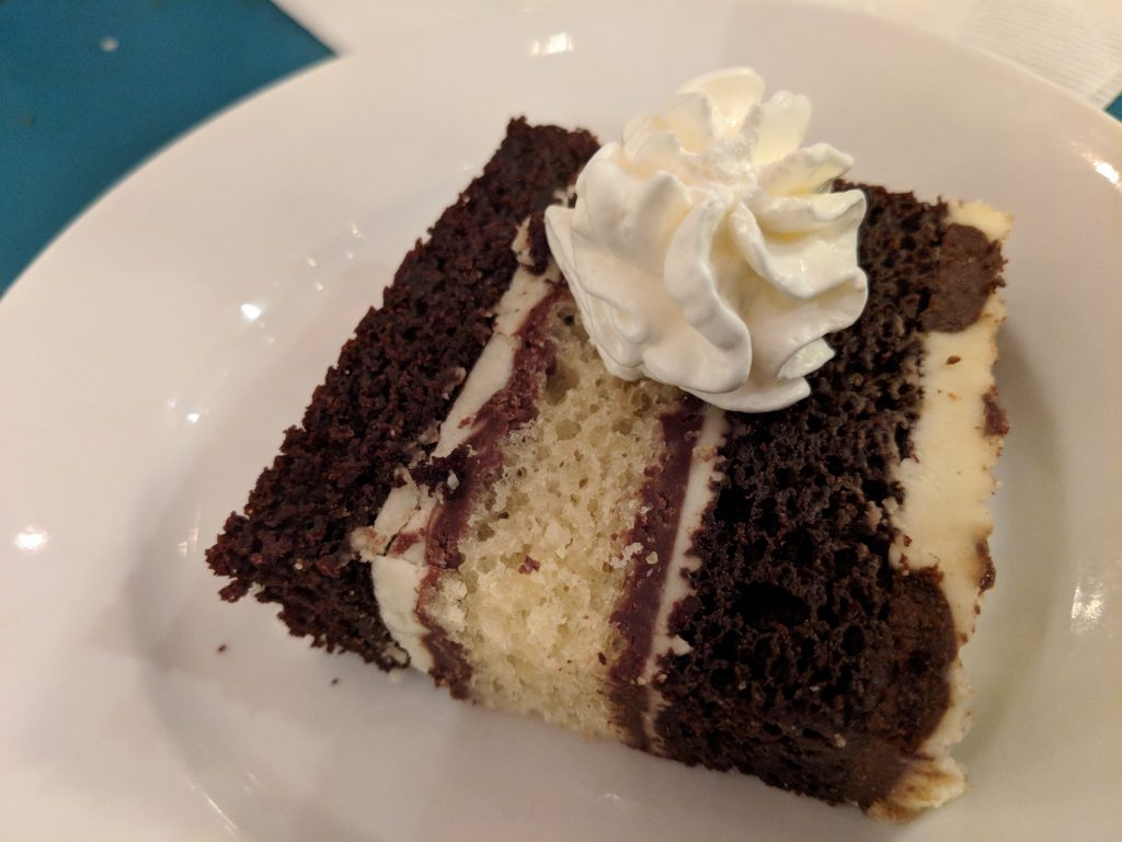 Don't miss out on the dessert at Florentina's.