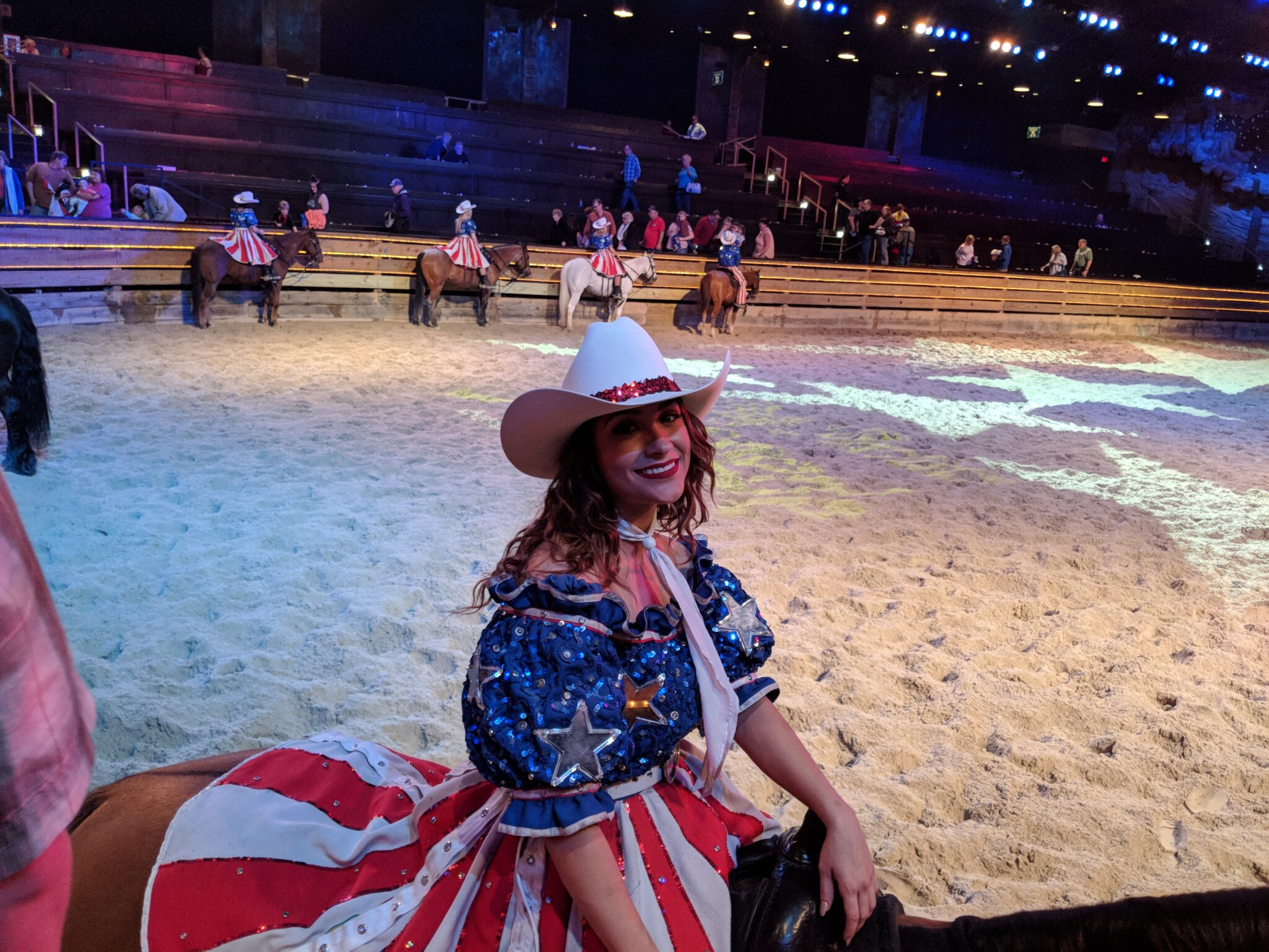 Family fun for all at Dolly Parton's Stampede in Branson.