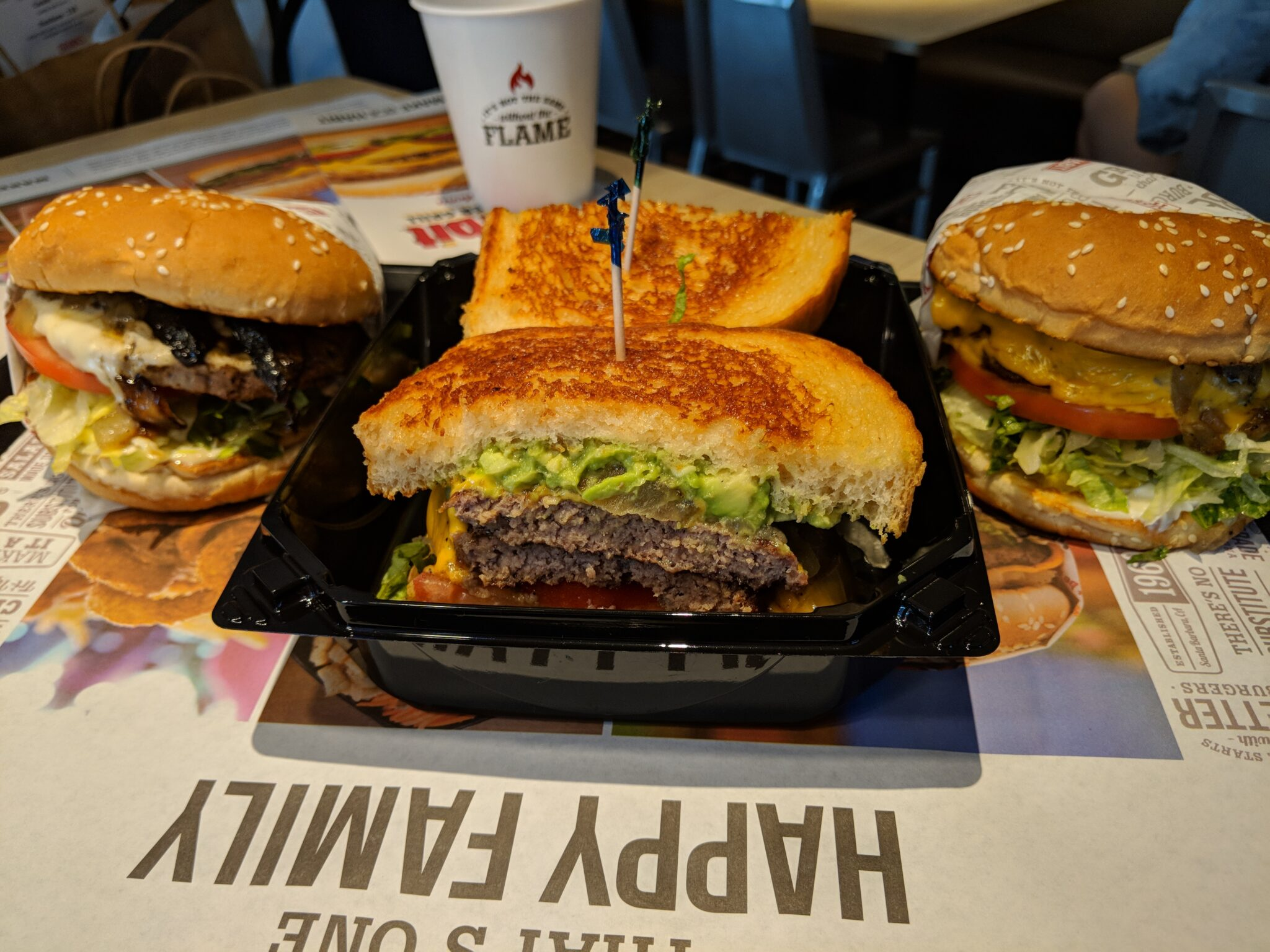 The Habit Burger Grill makes everything fresh, so have a burger your way.