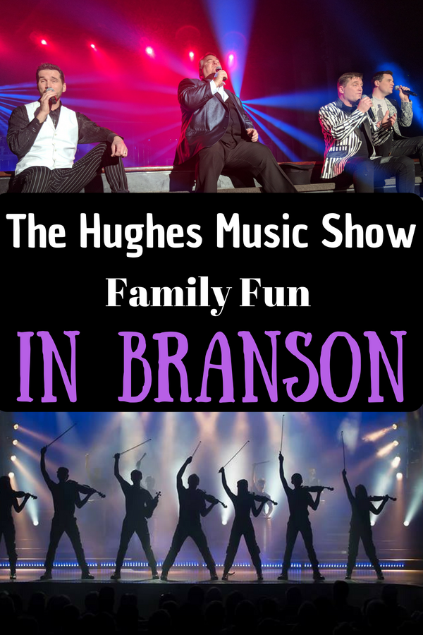 Looking for the perfect family night out? The Hughes Music Show has it all! Even the tweens and teens will show a smile or two. #BloggingBranson #BransonMissouri #Branson #HughesMusicShow #familytravel #familyentertainment