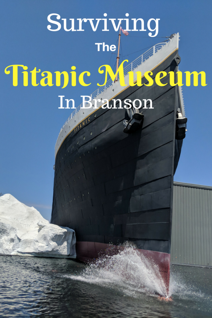 You've obtained your boarding pass for the magnificent Titanic now discover the wonders that await at the Titanic Museum in Branson. #BloggingBranson #Branson #Midwesttravel #Missouri #ExploreBranson #Titanic