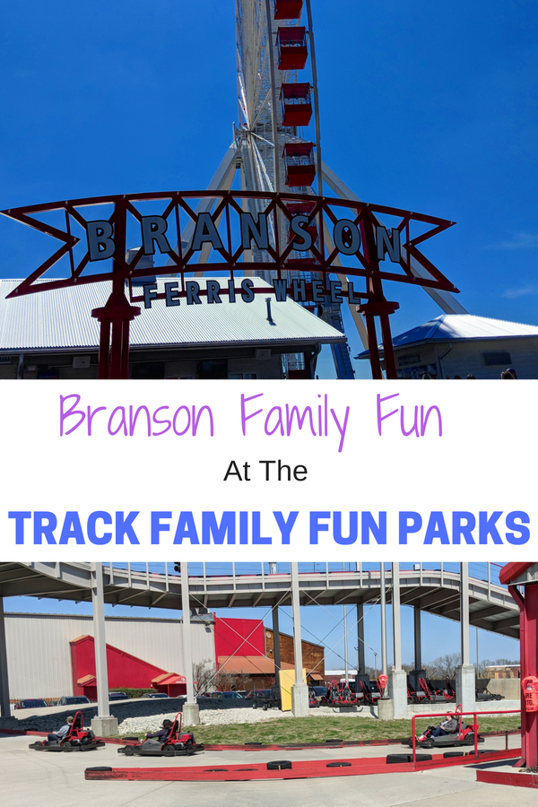Discover family fun at the Track Family fun Parks in Branson. So much to do with Tweens & Teens. #BloggingBranson #BransonMissouri #thingstodowithteens #travelwithkids #tweenstravel #teenstravel