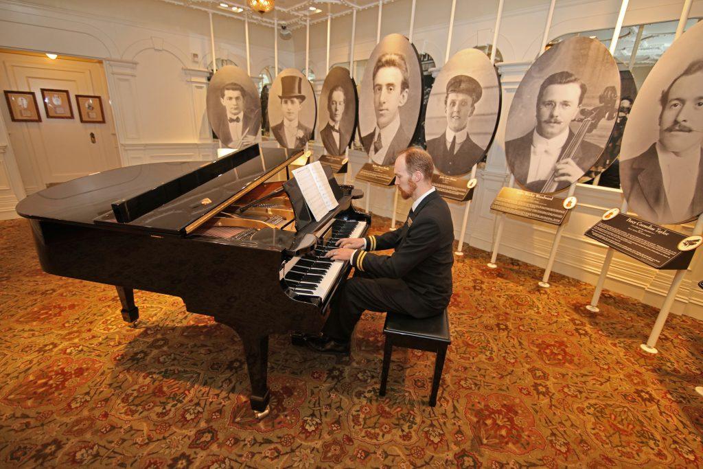 The music room in the Titanic Museum Branson.