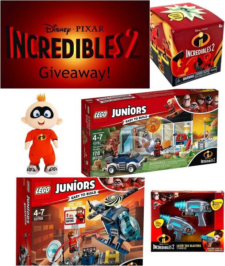 Enter to win this incredible prize pack and find out if Incredibles 2 was worth the wait! #Incredibles2 #Giveaway #Incredibles #Sweepstakes