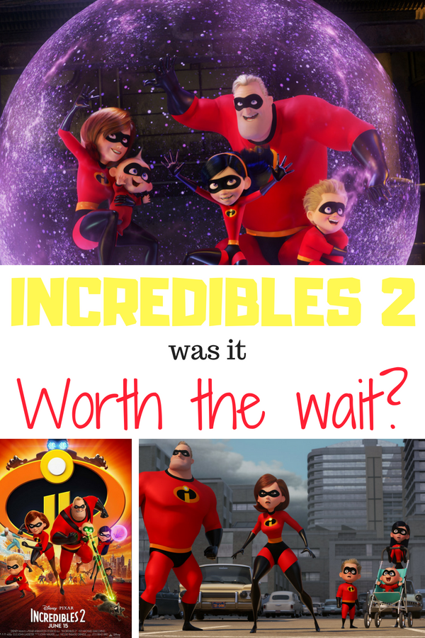 How did Incredibles 2 stack up? Was it worth the 14 year wait? My thoughts in a spoiler free review. #Incredibles2 #Disney #moviereview #kidmovies