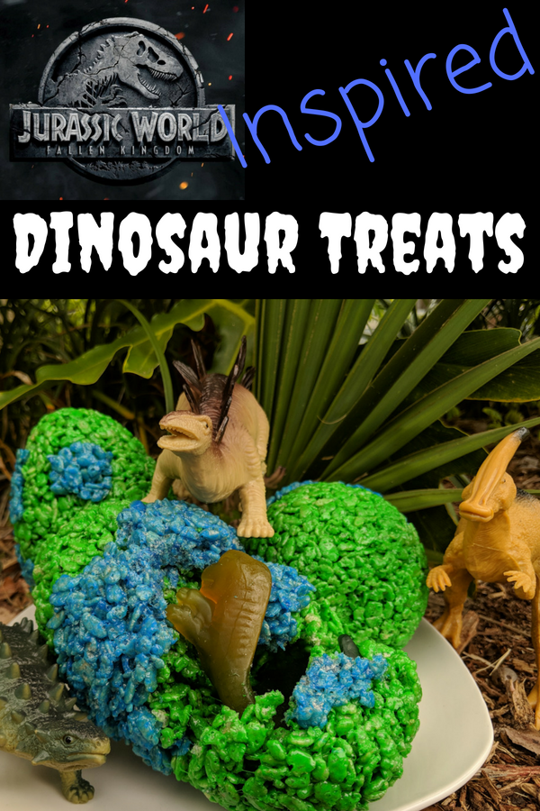 Perfect for any dinosaur themed party these Jurassic World inspired dinosaur treats are sure to be an epic hit! #JurassicWorld #dinosaurparty #kidsbirthdayparty #dinosaurs