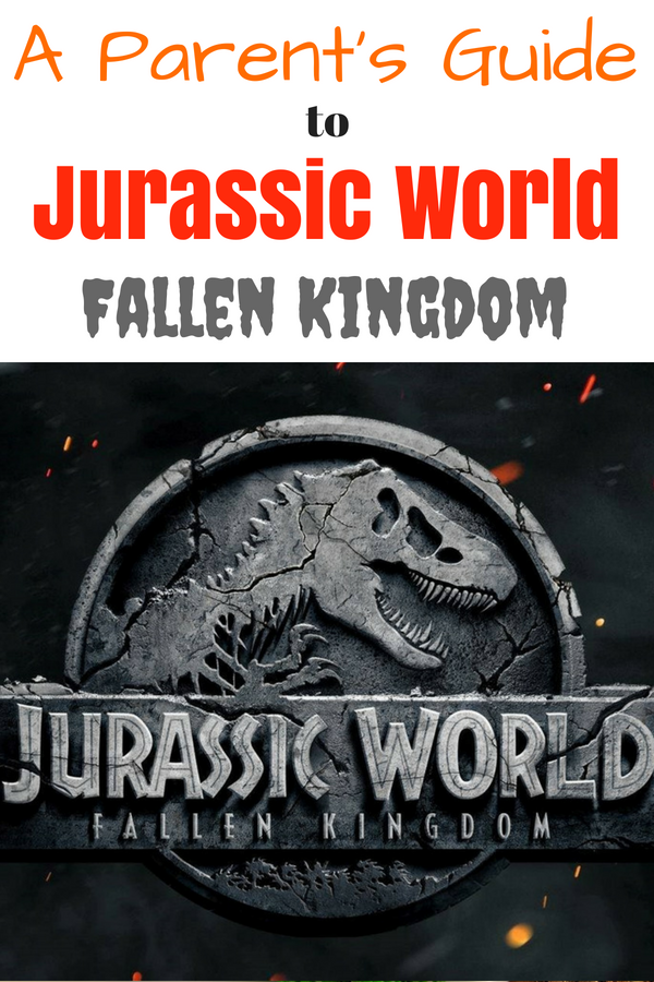 Is Jurassic World appropriate for kids? Find all the answers in this parent's guide to Jurassic World: Fallen Kingdom. Broken down by age groups plus a section just for kids with anxiety. #FallenKingdom #JurassicWorld #dinosaurs #moviereview