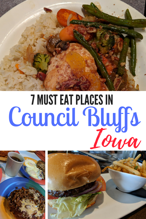 Need to know where to eat in Council Bluffs? Here are 7 places that are at the top of my foodie list! #ThisisIowa #CouncilBluffs #IowaFoodie #Iowa #midwesttravel