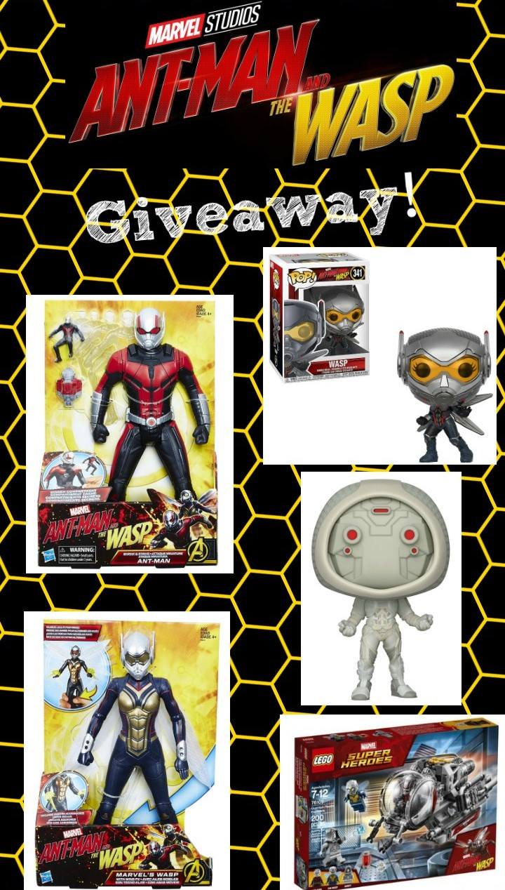 Enter to win the ultimate Ant-Man and the Wasp Prize Pack!