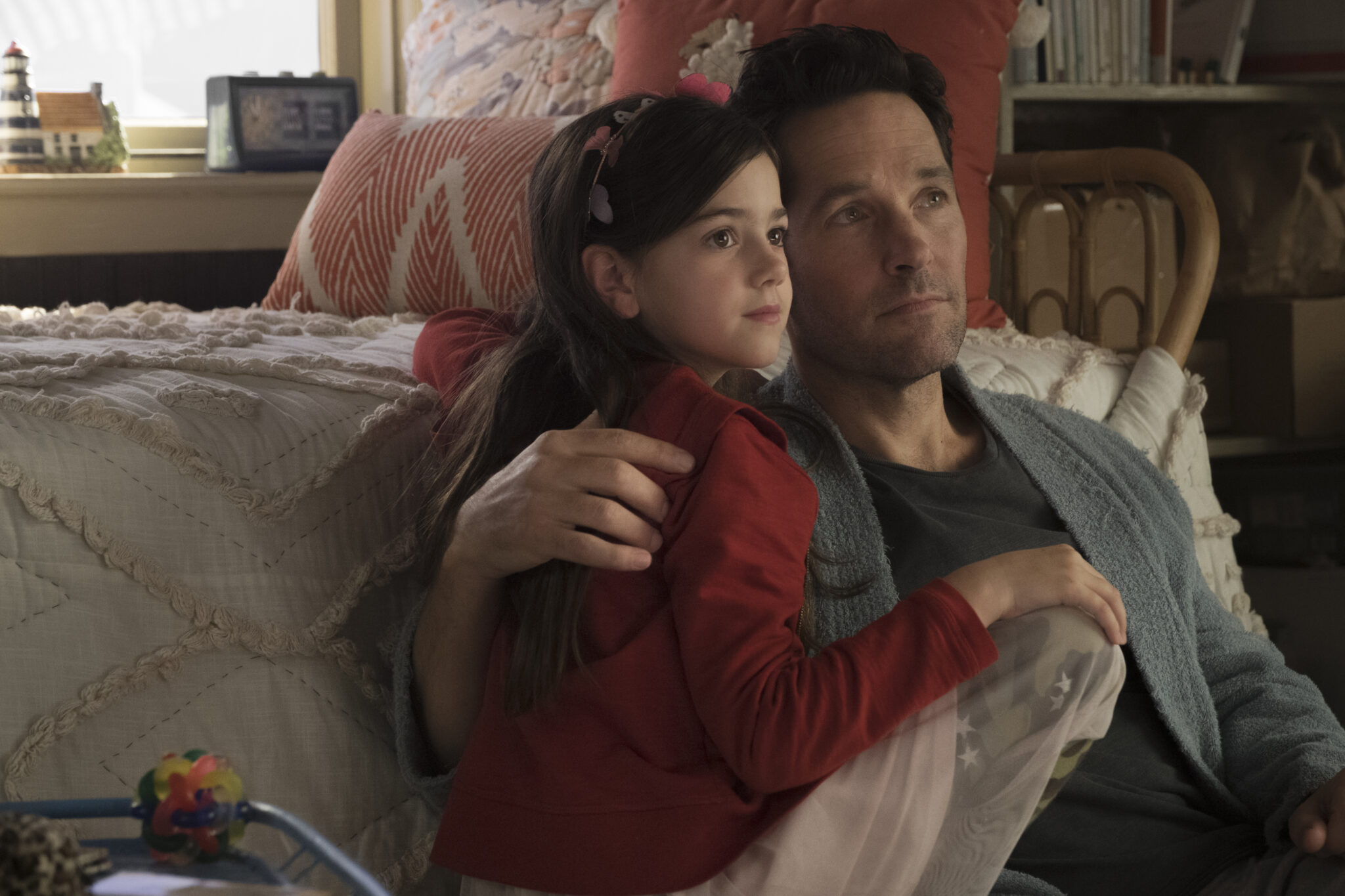 Family is the theme throughout Ant-Man and the Wasp.
