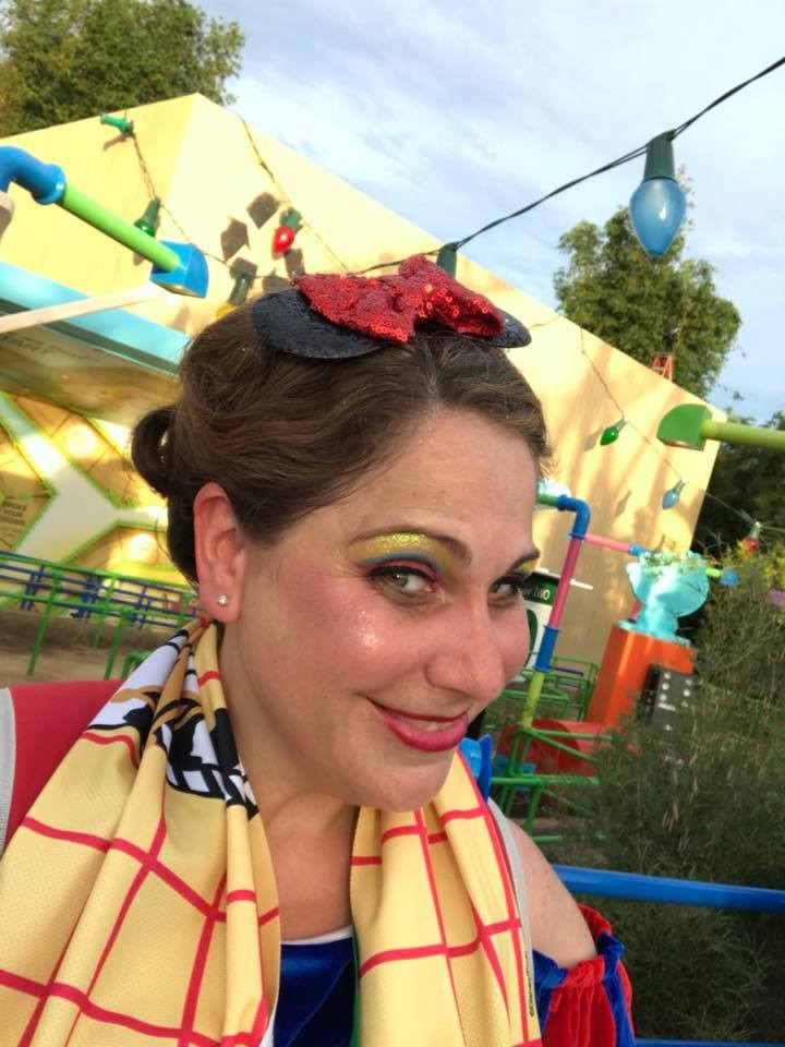 Snow White inspired Disney Character Couture Makeover