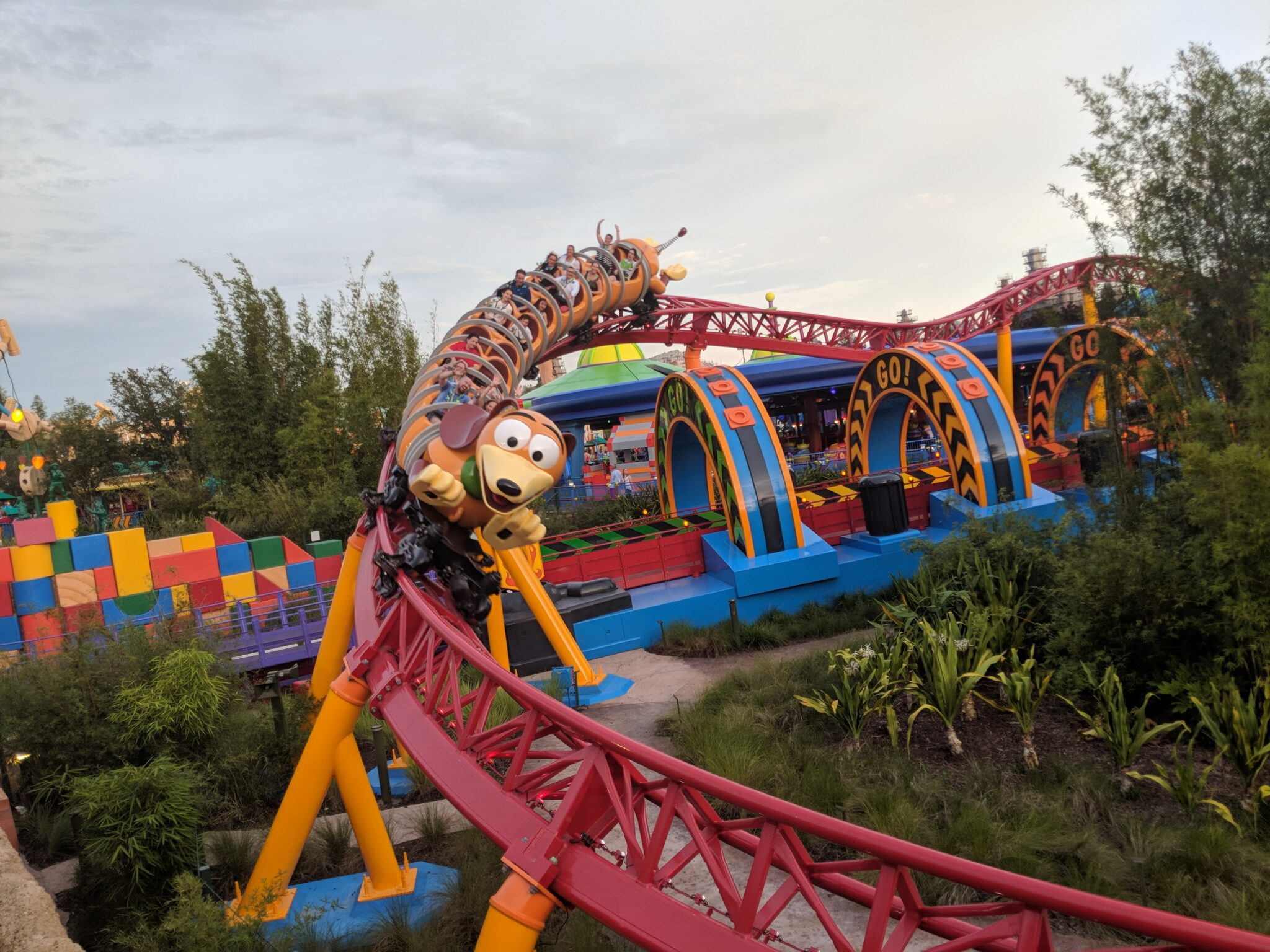 Find out how to ride Slinky Dog Dash with a minimal wait with these Toy Story Land tips.