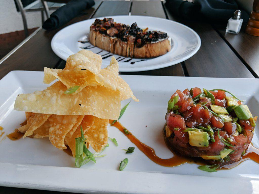 Fresh Ahi Tuna Poke is top of the summer appetizers.