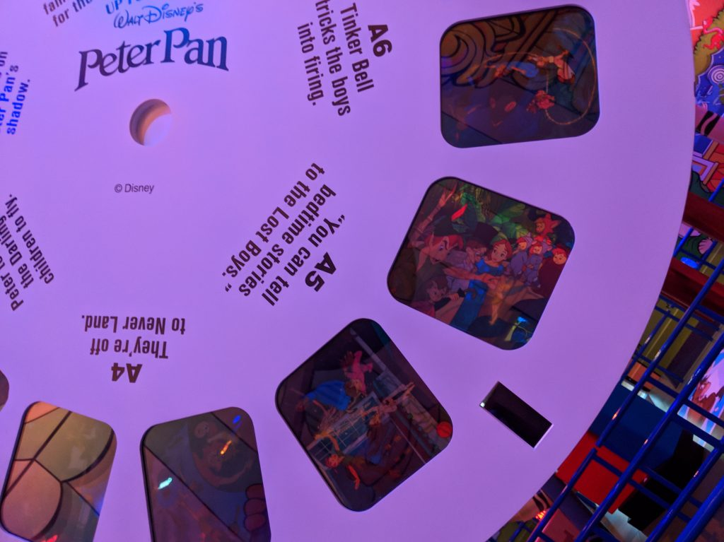 The Peter Pan Viewmaster reel shows just how much detail was put into Toy Story Land.