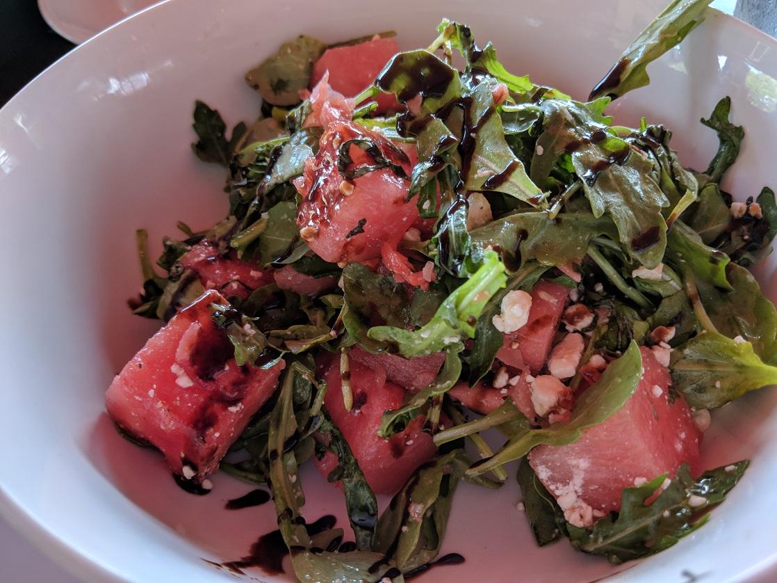 Watermelon Salad at Marlow's Tavern Orlando