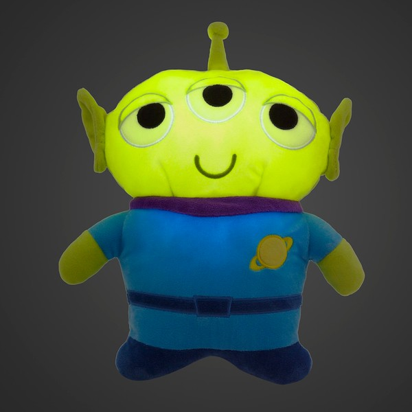 New Toy Story Alien Glow Plush available at your local Disney Store or shopdisney.com. Photo credit: Disney Store