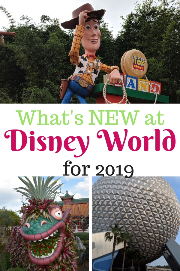 Visiting Disney World in 2019? Check out what surprises await! #DisneyWorld #Disney2019 #MagicKingdom #WaltDisneyWorld