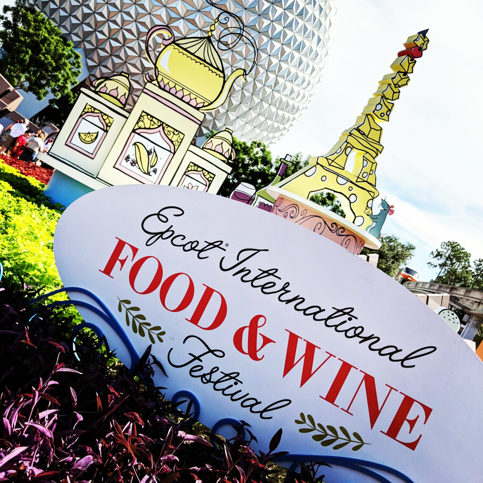 Discover how to do Epcot Food & Wine Festival on a budget.