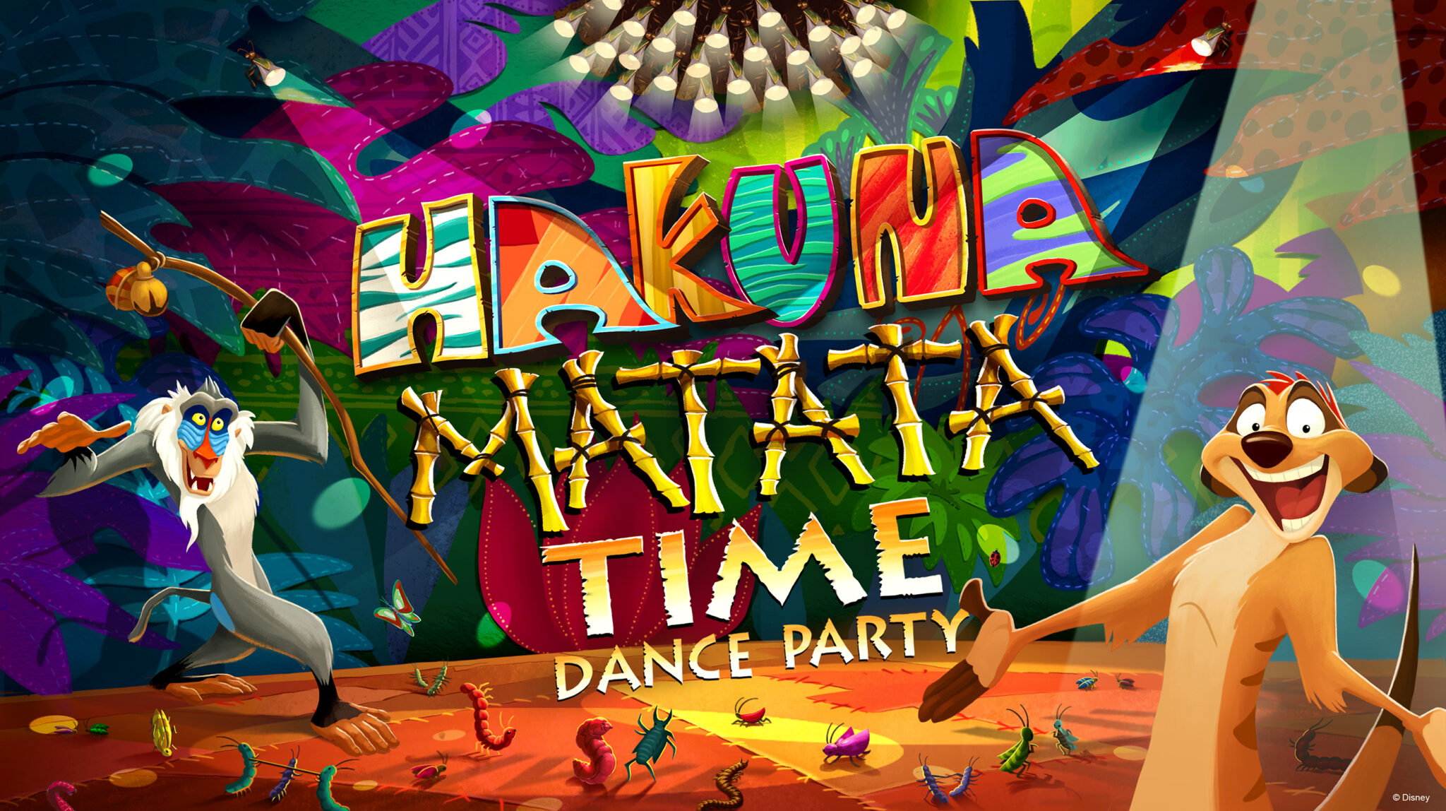 Celebrate The Lion King 25th anniversary Disney World in 2019 with the new Hakuna Matata Time Dance Party.