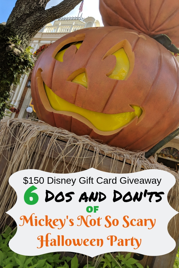 Heading to Mickey's Not So Scary Halloween Party? Don't lose your way with these insider tips! #NotSoScary #DisneyWorldtips #DisneyWorld #MagicKingdom #MickeysNotSoScaryHalloweenParty