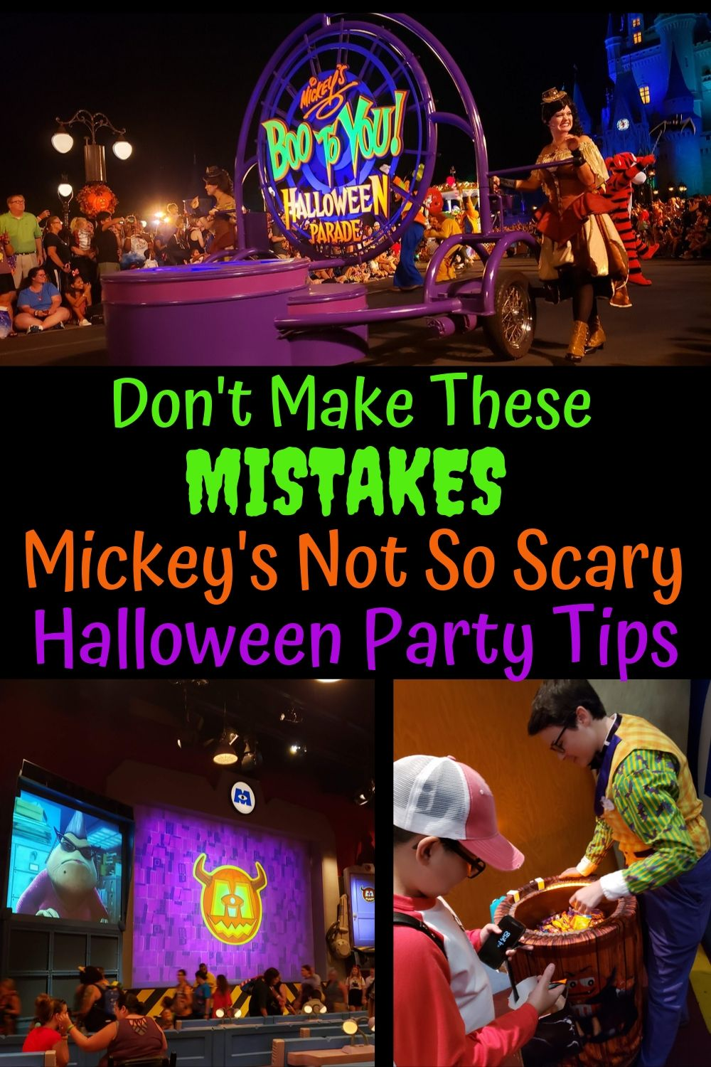 Learn from our mistakes! Here are 6+ dos and don'ts for Mickey's Not So Scary Halloween Party at Walt Disney World.