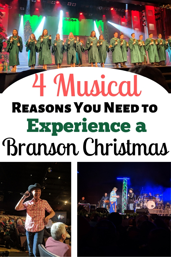 Branson, Missouri is home to over 100 shows! To say there is something for everyone is an understatement. Here are the top 4 Branson Christmas shows you have to see! #BloggingBranson #BransonChristmas #familytravel