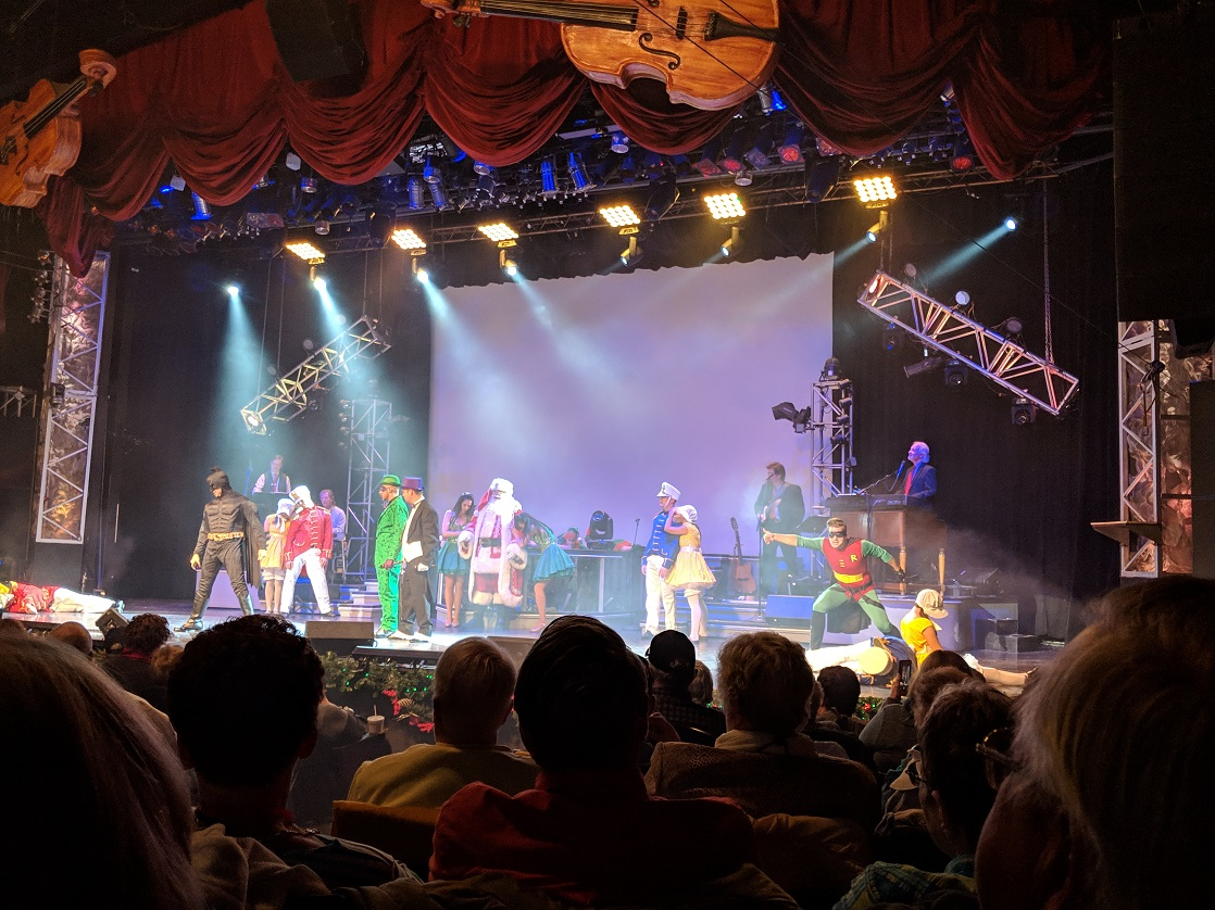 Will the masked superheroes save Branson Christmas?