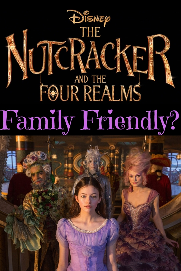 Disney's Nutcracker and the Four Realms is in theaters now. But should you take the kids? Check out my thoughts and my tween's review. #Disneymovies #NutcrackerandtheFourRealms #DisneysNutcracker