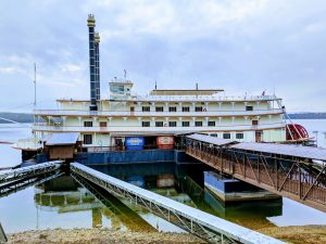 Showboat Branson Belle is standing by for holiday guests.