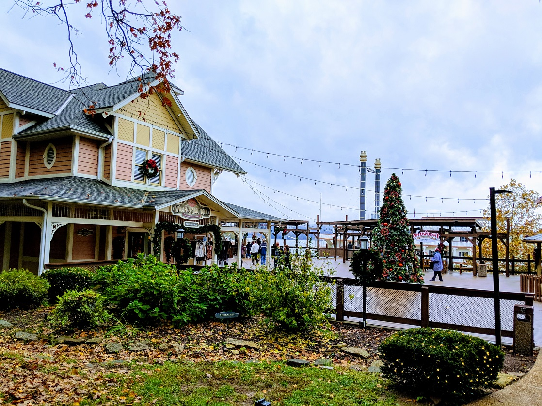 Get your holiday shopping done at the White River Landing before cruising on the Showboat Branson Belle Christmas cruise.