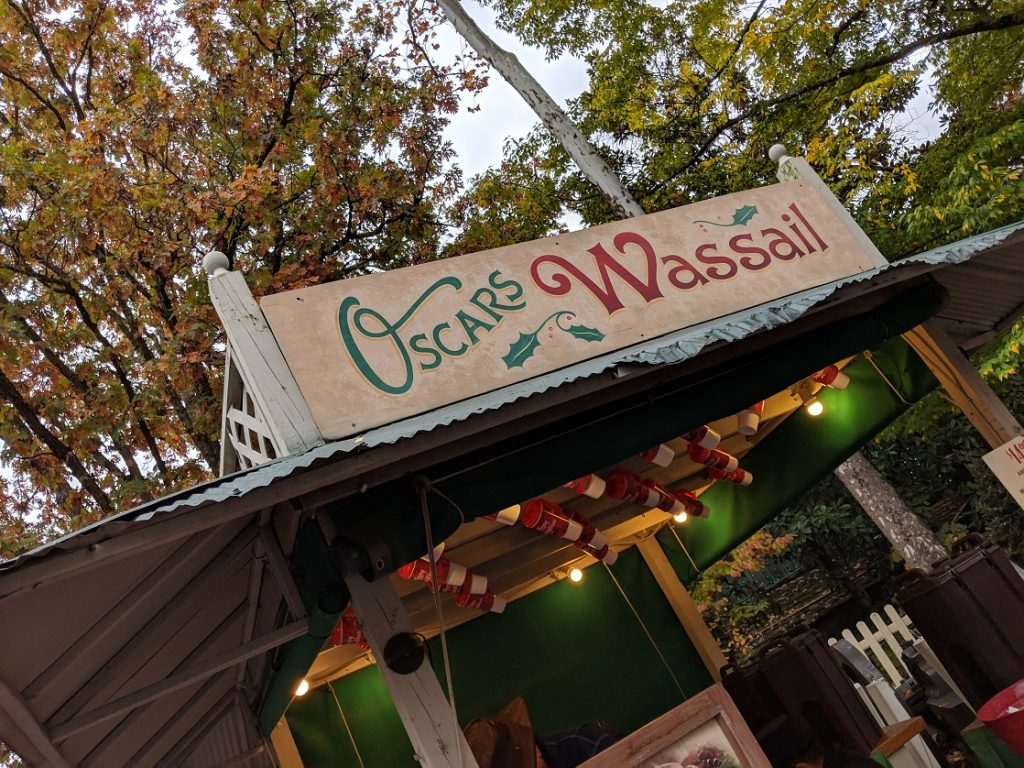 A trip to Silver Dollar City's An Old Time Christmas isn't complete until you've sipped hot Wassail!