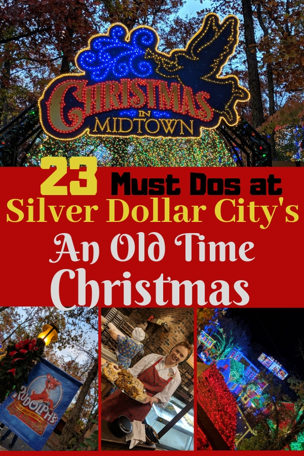 Sipping on wassail, meeting Rudolph and friends and seeing 6.5 million lights are just a few of the wonders waiting for you at Silver Dollar City at Christmas. Check out the other 20 things to do during An Old Time Christmas at Silver Dollar City. #BloggingBranson #Branson #SilverDollarCity #familytravel