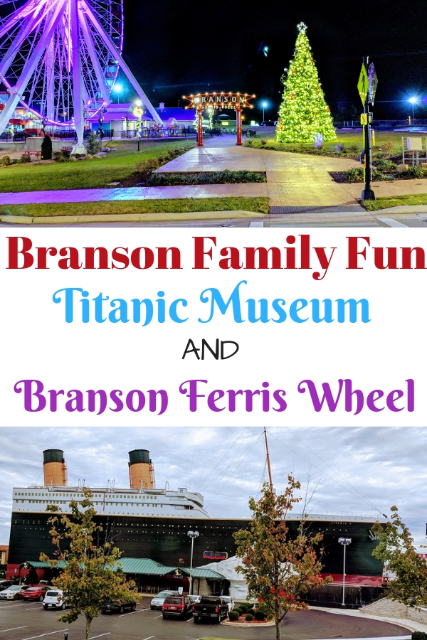 Find some Branson family fun at the Tracks Family Fun Park and the Titanic Museum. #BloggingBranson #familytravel #travelingwithkids