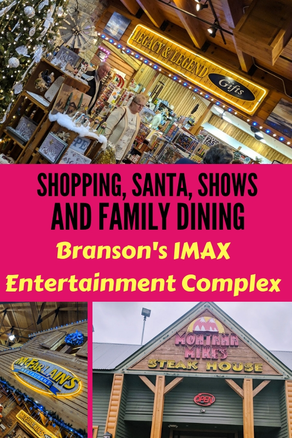 Your one stop shop for Christmas shopping, Santa, live shows and more. #BloggingBranson #Familytravel #Branson