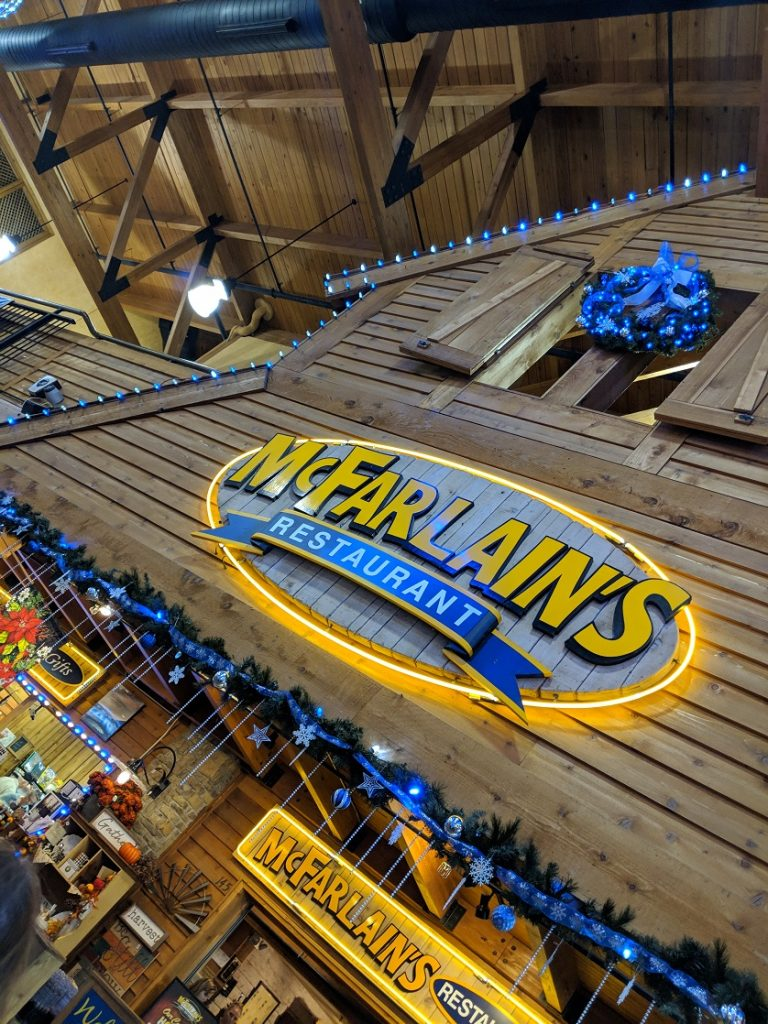 Dine at McFarlain's Family Restaurant in Branson's IMAX Entertainment Complex.