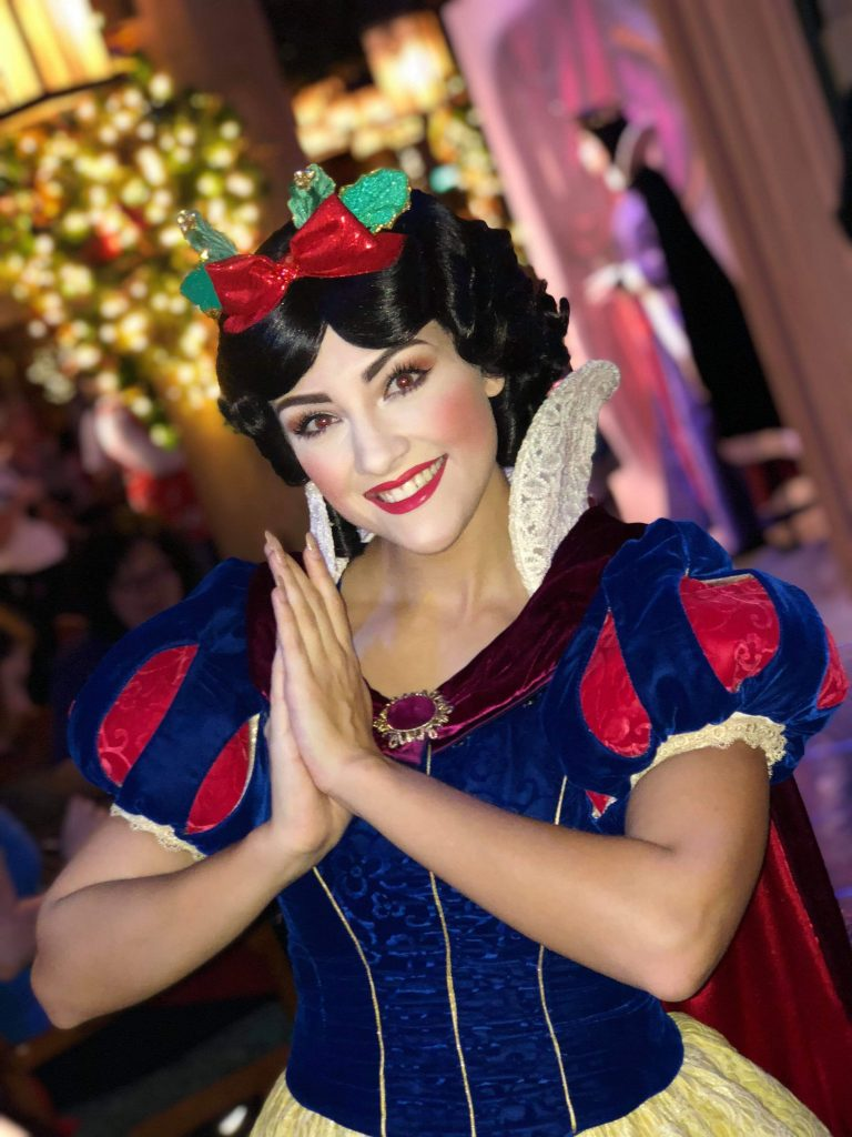 Snow White at Storybook Dining at Artist Point