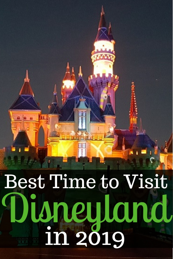 When's the best time to visit Disneyland in 2019? Find out when you'll save the most money, avoid crowds and still have access to all the best rides! Discover what time of the year to avoid, best day of the week to go and some hints on what's coming to Disneyland in 2019. #Disneyland #DisneylandResort #DisneyParks #travelwithkids#Disneytips #traveltips