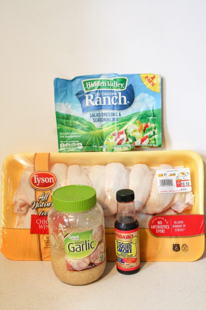 5 ingredient Instant Pot ranch wings