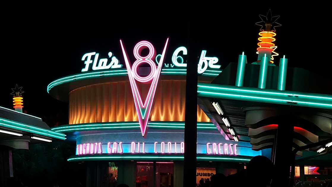 Flo's Cafe in Disney California Adventure will is a great spot to cool off during the summer.