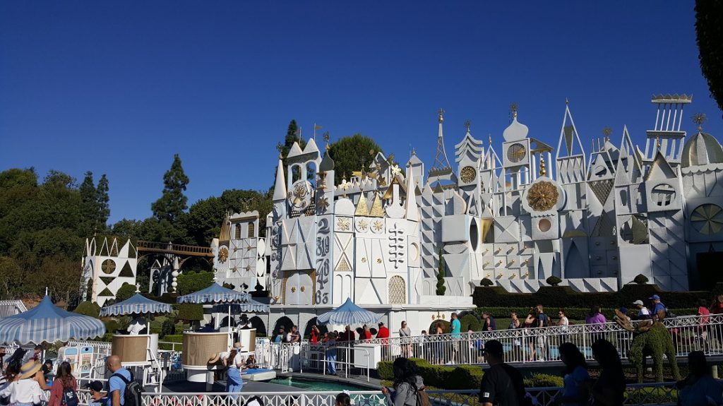 The best time to visit Disneyland is when it's a small world has no wait.